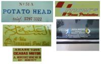 Stiker Kartu Nama